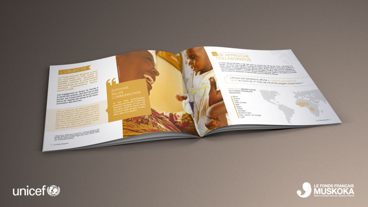 creation-edition-brochure-plaquette-muskoka-unicef-graphisme
