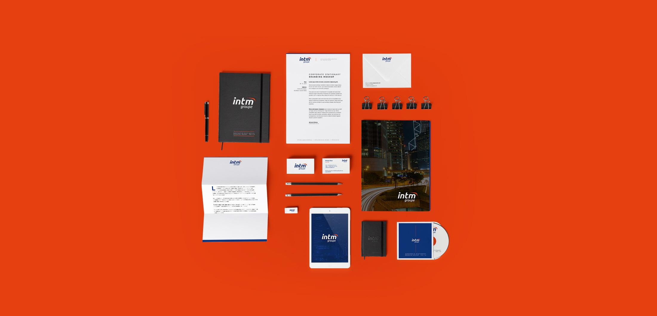 INTM-osb-communication-identite-branding-logo-papeterie